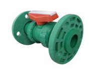 PPR FLANGED BALL VALVE
